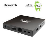 Cheap X96 4K Smart TV BOX Android 6.0 Amlogic S905X Quad Core H.265 Media Player KODI Marshmallow Mini PC 2.4GHz Wifi Miracast Airplay DLNA VS MXQ