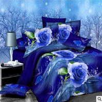 Wholesale 3d bedding set new reactive printed bedding set high quality bedding supplies