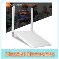 Wholesale 100 Original Xiaomi Router Mi Router Wifi Router AC WiFi Roteador Dual Band GHz Mbps IOS Android APP