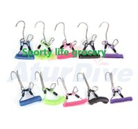 Wholesale High quality Scuba Diving anti rust Double TC4 TI Reef Hook meter for Current Dive
