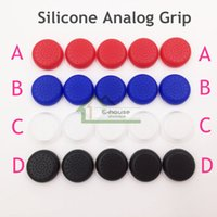 Wholesale Game Controllers Buttons Cap for PS3 PS4 Xbox Xbox One Controller High Quality Convenient Silicone Joystick Cap Cheap