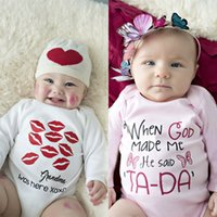 baby onesie sets - christmas clothes girls newborn clothes baby boys romper sets infant Romper Jumpsuits Rompers white onesie Kids Clothing