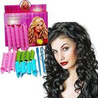 Wholesale DIY MAGIC LEVERAG Magic Hair Curler Roller Magic Circle Hair Styling Rollers Curlers Leverag perm set