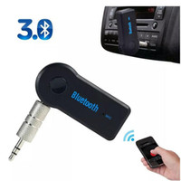 Wholesale 2015 New arrival hands free Wireless Audio Car Bluetooth EDUP V Transmitter Stereo Music Receiver Black