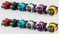 Wholesale New Aluminum alloy Bicycle Bell Compass BIke Bell Sound Resounding High Quality Bike Handlebar Ring Horn Color Optional