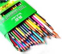 Wholesale 24 Colors Set Water Color Pencils Gift Set designed for student artists crafters