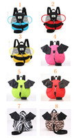 Unisex backpacks reins - 2016 Harness Removable Tether Strap Baby Kids Keeper Toddler Safety Rein Backpack Bag Small Cute Red Convenient Children s backpacks100010