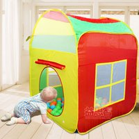 Wholesale New arrival Super Game House Portable Magic Children s Tent House Ocean Ball Pool Baby Toy House without ocean balls education