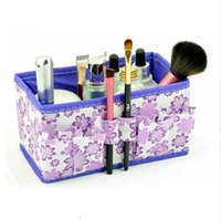 beauty box japan - Folding Multifunction Makeup Cosmetic Storage Box Container Case Organizer Multifunction Beauty Flower inch cheapest sale