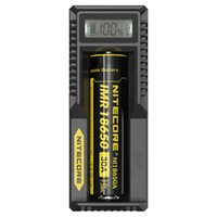 Wholesale Nitecore Smart Battery Charger New UM10 Digicharger LCD Display Universal USB Power For Li ion Battery