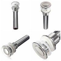 Wholesale Durable New Brass Bathroom Vessel Basin Sink Faucet Pop Up Drain Non Overflow Excellent Quality
