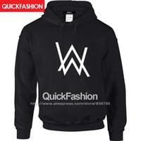alan fashion - Alan Walker Men Hoodies Jacket Outerwear Electronic High Quality Brand Hooded Fashion Casual Felpe Male Homme