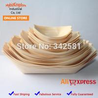 Wholesale Disposable wood sushi boat Tray quot quot quot