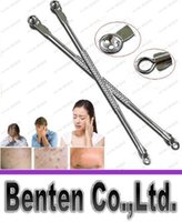 Wholesale Cosmetic Tool Silver Stainless Acne Needle Blackhead Blemish Extractor Remover Tool beauty tool skin clean tool LLFA