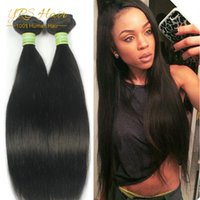 al por mayor pelo elfin-Cabello encantador del pelo del malasio 3Pcs derecho 7A cabello humano recto del pelo de Elfin malasio recto