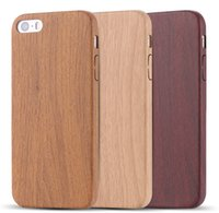 bamboo patterns - Vintage Wood Bamboo Pattern Leather PU Cases for iphone s plus Luxury Slim Back Cover Mobile Phone Protector Accessories