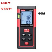 Wholesale UNI T UT391 Digital Laser Distance Meter Range Finder Measure Tape Laser Telemetre Handheld m laser rangefinder