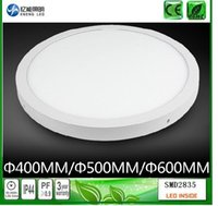 Wholesale Surface mounted Round Dimmable LED Panel Lights W W W mm mm mm LED Ceiling Lamp Down Light AC85 V