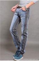 acid lights - Hot Sale New Men Brand Paris Runway Stretch Jeans Washed Acid Light Black Blue Personality Hit Color Skinny Jeans Men Plus Size