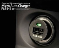belkin universal - 1000pcs with logo Belkin Brand Top quality Mini Universal USB Car Charger Adapter For all IPhone s s samsung galaxy S4 S3 all mobile phone