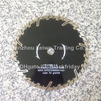 Wholesale Protective Teeth Turbo Saw Blade inch mm Cutting Disc for Granite Diamond Blade Inner Hole mm