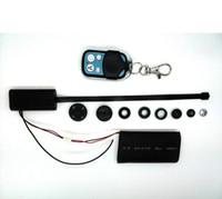 Caméra pour la sécurité cctv France-Gratuit DHL 10pcs / lot Spy caméra mini-boutons cachés caméra T186 HD 1080P Video Module DIY Mini DV DVR CCTV sécurité caméscopes Télécommande
