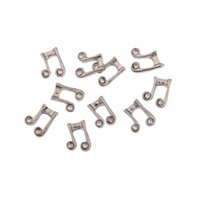 Wholesale 20pcs Cute Music Notation Floating Charms For Glass Floating Locket
