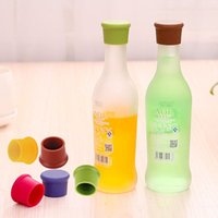 Wholesale New Arrive Silicone Wine Bottle Stoppers Kitchen Bar Tools