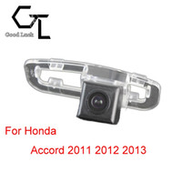 accord backup camera - For Honda Accord Lighting hole Wireless Car Auto Reverse Backup CCD HD Rear View Camera Parking Assistance