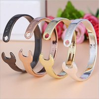 best wrench set - NEW Men and Women s Vintage ROUILLE Opening Of Wrench Bracelet Titanium Steel Bangle Wedding Jewelry Best Gifts