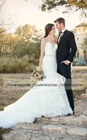 australian summer dresses - 2016 Boho Garden Beach Sweetheart Neck Wedding Dresses Crystal Belt Sweep Train Australian Style Bridal Gown Custom Made Hot Sale Summer