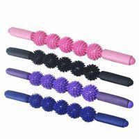 Wholesale New Hot Sale Roller Massager Waist Slimming Legs Yoga Stick Back Massage Axis Neck Massager