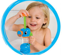 bath toy water pump - Favorite Lovely Baby Bath Toys Play Taps Hippocampal Shape Water Pump Water Bath Baby Bath Toy