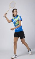 badminton outfits - NEW Victor badminton clothing women badminton Shirt Table Tennis clothes one set sportwear girls tennis outfit shirts