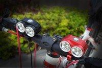 battery bikes uk - 2016 New Arrive LM Waterproof LED Bike Light CREE XM L T6 LED Bicycle Light mAh Battery EU US UK AU Charger