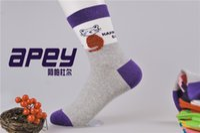 women cute socks - APEY Fashion Cartoon Cat Design Female Cotton Socks Cartoon candy socks Women Cute Mixed Colors socks