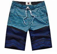 Homens Desporto Surf Board Swim Flor Imprimir Shorts Trunks Natação Praia Troncos Pants Swimwear azul da praia de surf Pants S M L XL