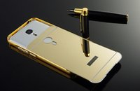 acrylic mate - Luxury Metal Aluminum Bumper Frame Mirror Case For Meilan Note3 note2 Note Meilan2 Meizu MX5 MX5 Pro Mate L Pro6 Bling Hard Acrylic PC Skin