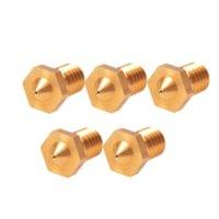 Wholesale Copper Color E3D Printer Accessory mm Brass Nozzle mm Precision High Quality printer wide