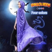 best ghost costume - Best Quality Halloween Costumes Cosplay Dress Long Capes for Women Dancer Party