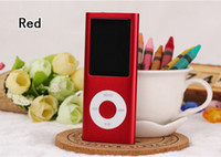 Wholesale Hot Sale Cheap Real Capacity GB Slim quot th LCD MP3 MP4 Player FM Radio Video Multi Colors Freeshipping
