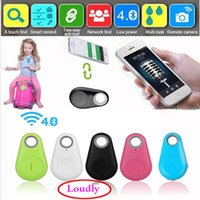 Wholesale Safety protection Wireless Bluetooth Itag Tracker Bags Pet Kids GPS Locator Alarm Itag Smart Finder Anti Lost Reminder Free DHL UP