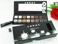 band easy - 16 Colors New Makeup LORAC PRO Palette Eyeshadow With Eye Primer Luminous Eye shadow Palette Band Makeup cosmetics