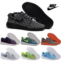 Cheap Nike Roshe One Yeezy Boost 350 Running Shoes Men Women 2016 High Quality Roshe Run Sneakers Cheap Black Sports Shoes Size 36-45