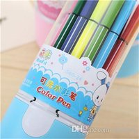 Wholesale high quality coloring pen Painting pens Colored pencils Creative Writing tools colors colouring pen