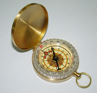 Wholesale 50 Classic R1B1 Brass Pocket Watch Style Camping Compass Hiking