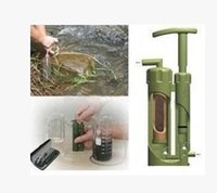 Wholesale Individual water purifiers outdoor water purifier field portable water purifier earthquake emergency equipment camping necessary