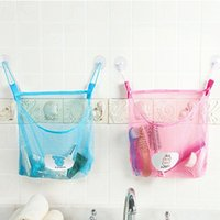 Wholesale Solid Hanging Hollow Storage Bag Kitchen Bathroom Sundries Baskets Creative Home Organization PVC Polyester lt no tracking