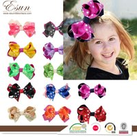 Wholesale Europe and the United States selling jewelry custom processing Korea children hair bow Princess fashion hair ornaments