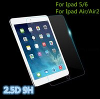 Wholesale High Quality Tablet D Curved H Tempered Glass Screen Protector Glass Film For Ipad5 Air Air2 Tempered Glass Screen